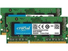 Crucial 8GB Memory Kit (4GBx2) DDR3-1600