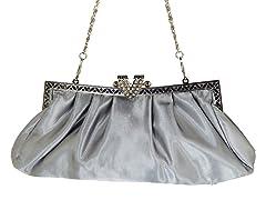 Satiny Clutch Bag