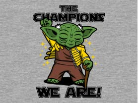 The Champions We Are!