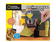 Sand Clay Sculpting-Pyramids & Mummies