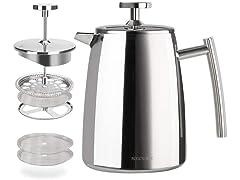 Secura French Press Coffee Maker- 32oz