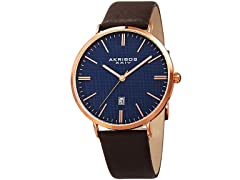 Akribos XXIV Men's Quartz Easy-to-Read Watch