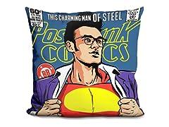 Superman Comic Pillow