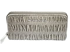 MK Webster Continental Wallet, Nickel