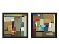 Urban Mix I, II Set of 2