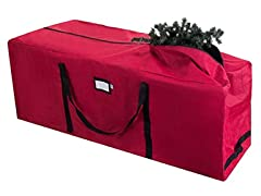 Premium Rolling Christmas Tree Storage Duffel Bag for 9 Ft Tree