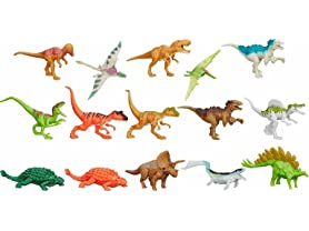 Hasbro Jurassic World Bag of 15 3'' Dinosaurs