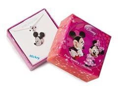 Mickey Black & White Diamond Pendant