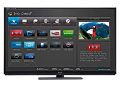 "Sharp 60"" 1080p 3D LED Smart TV w/ Wi-Fi"