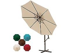 11-ft. Offset-Hanging Umbrella: Your Choice
