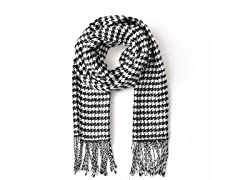 Soft Cashmere Children's Plaid Scarf