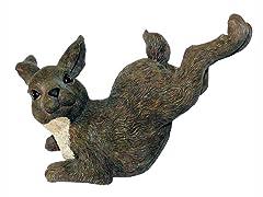 Bound Rabbit Statue, Large