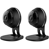 2-Pack Samsung SNH-V6414BMR SmartCam HD Plus 1080p Wi-Fi IP Monitoring Camera - Factory Reconditioned