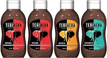4-Pack Teriacha (Teriyaki + Sriracha) Sweet & Spicy Sauce