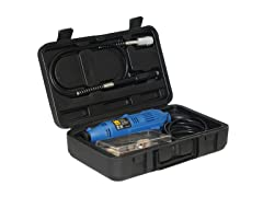 Rotary Tool Kit with Flex Shaft