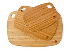Totally Bamboo Cutting Board Set