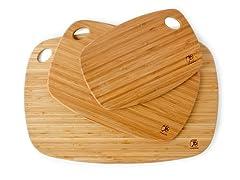 Totally Bamboo Cutting Board Set