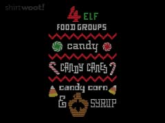 4 Elf Food Groups