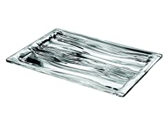 Look Clear Rectangular Tray