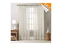 Sheer Curtains 84 inch for Bedroom