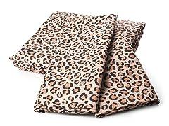 MicroFlannel Queen Set - Leopard