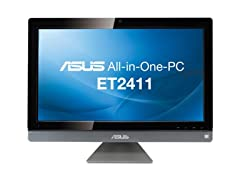 "ASUS 23.6"" Intel i3 Full-HD AIO Desktop"