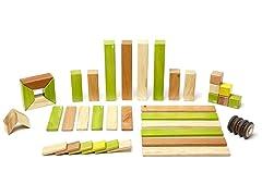Tegu 42-Piece Magnetic Wooden Block Set