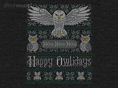 My Owliday Sweater