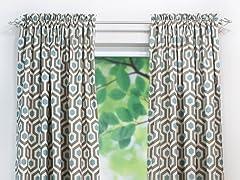 Magna Rod Pocket Curtain Panel - Cadet - 3 Lengths