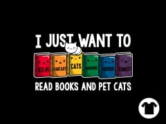 Read Books and Pet Cats