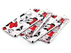 Minnie Small Snack Bag 4-Pack