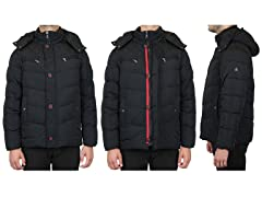 Men's Heavyweight Quilted Parka Jacket