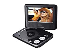 "Sylvania Portable DVD Player 7"" Screen"