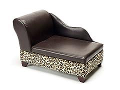 Storage Pet Bed - Leopard