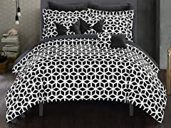 Chic Home 10-Piece Stefanie Comforter Set