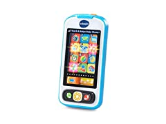 VTech Touch and Swipe Baby Phone Blue