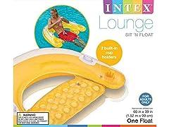 Intex Sit N Float Inflatable Lounge