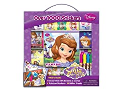 Disney Princess Sofia Sticker Box