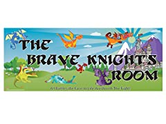 Knights & Dragons Room Sign