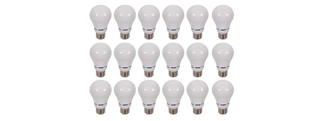 Energetic A19 LED Lightbulb 18 Pack