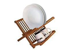 Totally Bamboo Compact Dish Rack