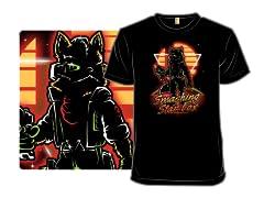 Retro Smashing Fox
