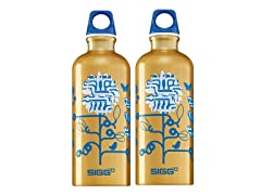 SIGG Techno Blossom Aluminum Bottle 2pk
