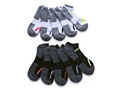 HEAD Moisture-Wicking Socks, 10 Pairs
