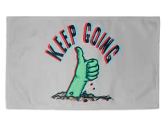 Keep On Going 3' x 2' Rug