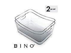 BINO Storage Organizer Bin with Handles