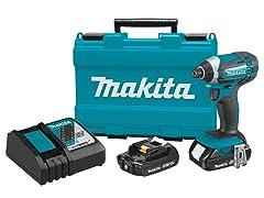 Makita 18V Lithium-Ion Impact Driver Kit