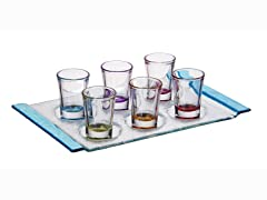 1.25oz Party Shot Glasses with Tray