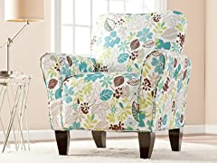 Madigan Accent Chair - Floral