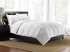 Black Down Alternative Comforter / Twin Size